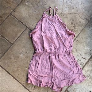 Cute dusty rose spring jumpsuit S